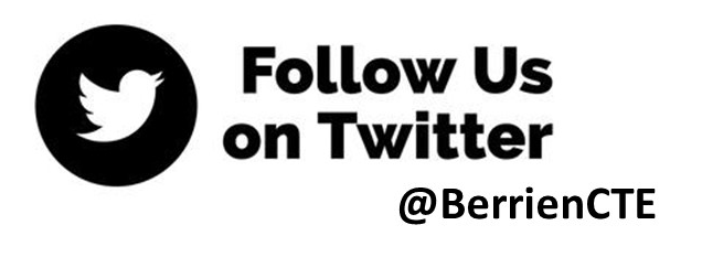 Follow us on Twitter @BerrienCTE